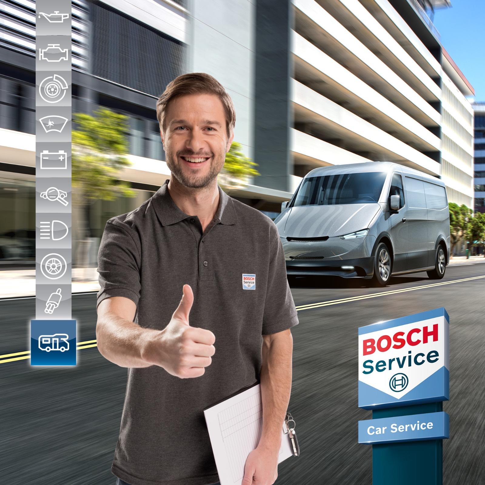 Ritiro e riconsegna veicoli a domicilio bosch car service a Vimercate